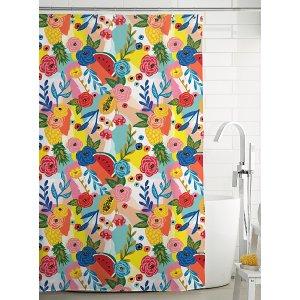Simons Maison热带花束浴帘