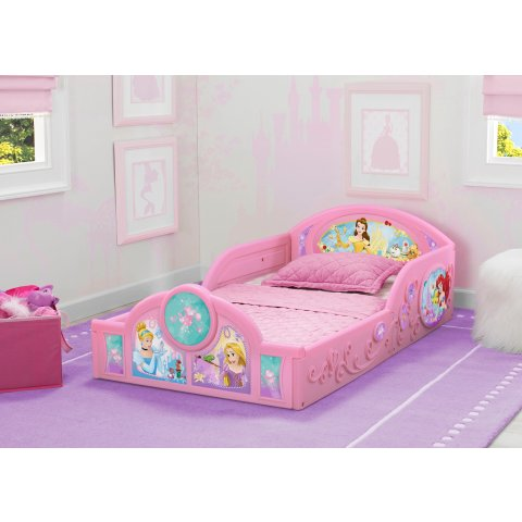 Disney Princess Plastic Sleep And Play Toddler Bed By Delta Children Dealmoon