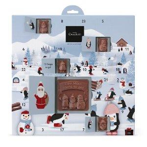 £8起 9种款式可选 小吃货们快来看看Hotel Chocolat 巧克力圣诞日历甜蜜发售