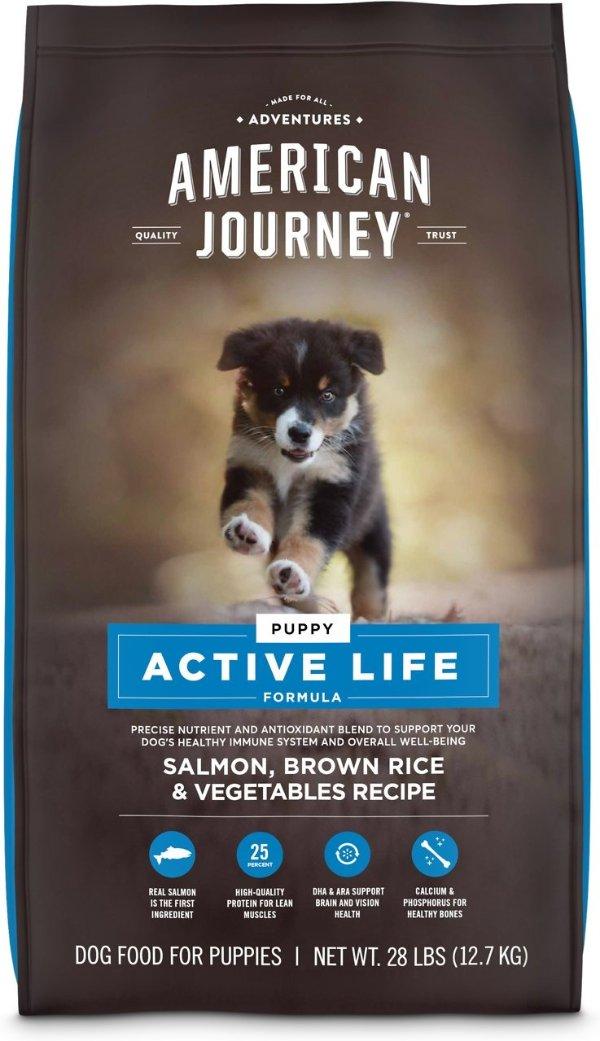 Active Life 三文鱼幼犬粮28磅