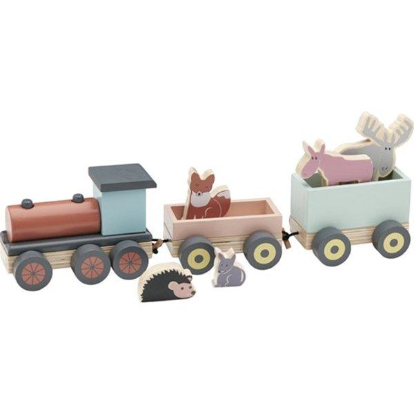 木质小火车