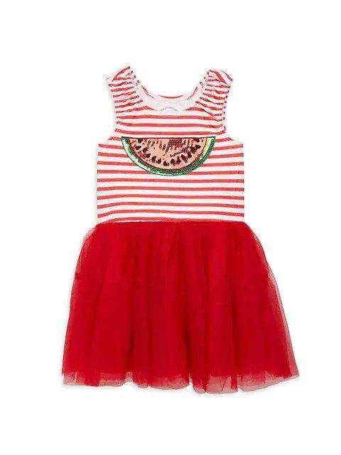 女小童连身裙Tutu裙,尺码:2T