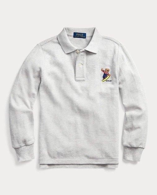 小熊Logo 男童、大童Polo衫