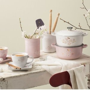 From $10New Flower Collection Launch @ Le Creuset