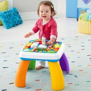 Amazon Fisher-Price Laugh & Learn Around The Town Learning Table