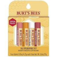 Burt's Bees 润唇膏 4支装