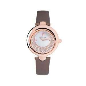 Links of LondonHope Rose Gold Plate Bronze Crystal Watch