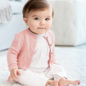 包臀衫5折+满额8折+包邮折扣升级:Carter's官网  新生宝宝系列热卖,新生儿所需一站式购齐