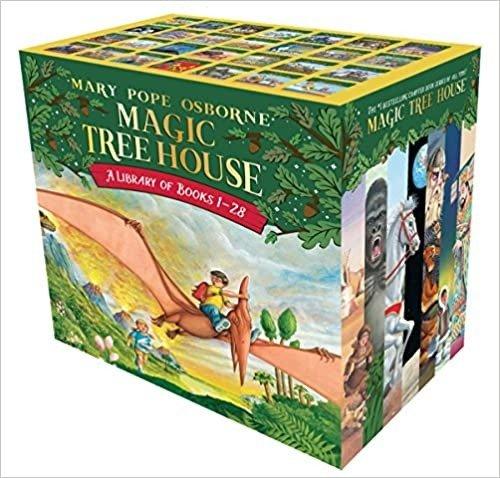 神奇的树屋童书1-28