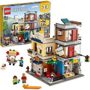 LEGO 31097 3合1联排别墅宠物店和咖啡店 6.9折特价