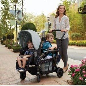 $138.88(原价$349.99)最后一天:Modes Duo 双人童车 27种搭配方式超实用