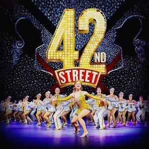 无手续费 £18起 粉墨登场42nd Street 第42街 音乐剧门票