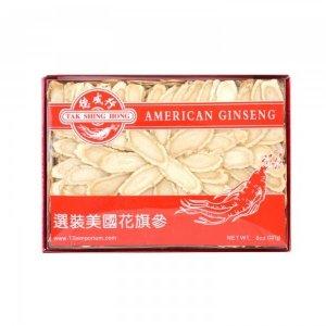 TAK SHING HONG American Ginseng Slice XL-AAA 8oz(227g) XL-AAA 8oz(227g)