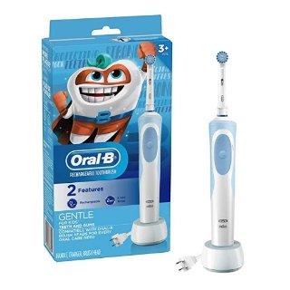 $19.99(原价$29.99)史低价:Oral-B 儿童电动牙刷,配刷头和定时器,适合3岁+儿童