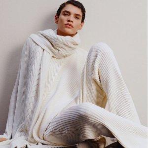 3折起+额外9折 €18收复古背心COS 针织专场 北欧性冷淡风 百搭针织开衫、小马甲等你来