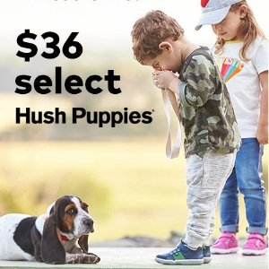 All $36Select Hush Puppies Shoes Sale @ Stride Rite
