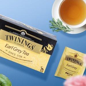 $17.7(原价$30.99)收144包史低价:Twinings英国皇室茶品 生活仪式感 从品茶开始