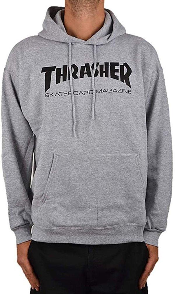 Thrasher 灰色卫衣