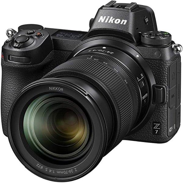Z 7 + Nikkor Z 24-70mm f/4, Black