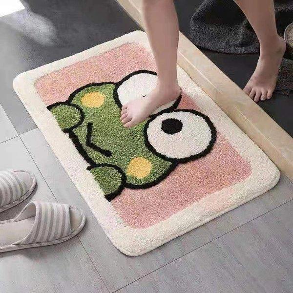 可爱吸水脚垫/门垫/浴室垫