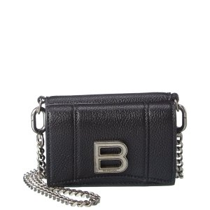 BalenciagaLeather Wallet On Chain