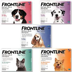 全场免邮+额外9.3折Frontline 宠物体外驱虫药热卖 买1送1 平均1个月只要$4