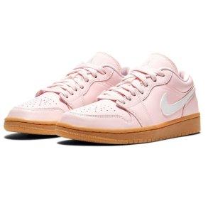 """售价$90+包邮 粉色控必入预告:Nike官网 AJ 1 Low """"Arctic Pink"""" 配色女款球鞋抢先看图"""