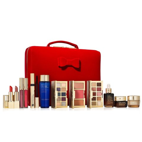$75 with any $45 purchase ($455 Value)Estee Lauder Beauty Essential Blockbuster Roundup