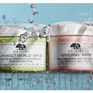 满£30即送正装泥娃娃清洁面膜Origins 油痘肌真爱品牌 咖啡面霜、菌菇水收起来