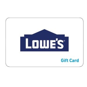 Lowe's 电子礼卡促销满$200享9折