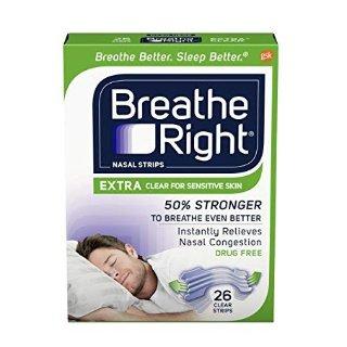 $7.84 包邮 销量冠军Breathe Right 通气鼻贴 26贴 敏感肌适用