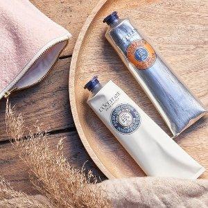 任意单送护手霜L'Occitane  精选护肤护理热卖 收乳木果护手霜