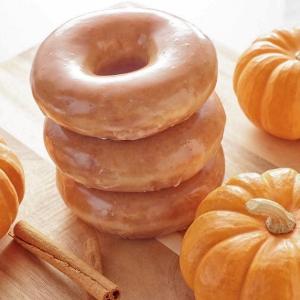 限时限量最后一周 9/16 - 9/22Krispy Kreme 秋冬网红南瓜甜甜圈回归+南瓜蛋糕甜甜圈