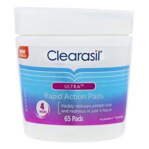 Clearasil去闭口清洁棉片 65pk