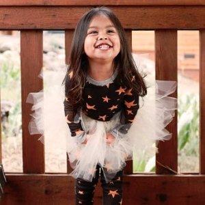 Starting at $8Kids Halloween Pajamas Sale @ Burt's Bees Baby