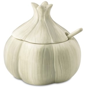 $11.99 Farmhouse Garlic Condiment Server