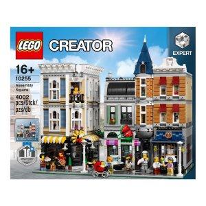 现价€199.99(原价€239.99)乐高街景系列10255城市中心集会广场好价 需用码