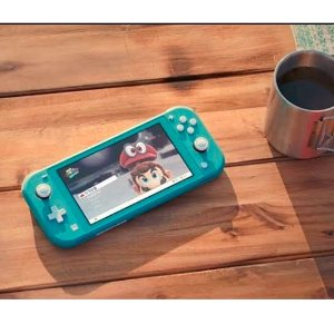 $330 (原价$340)  颜值高的掌机新款预售:任天堂 Switch Lite游戏机 多色可选