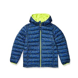 $9.94Amazon Essentials Boys Light-Weight Water-Resistant Packable Hooded Puffer Jackets Coats