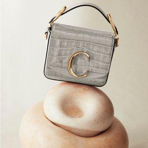 无门槛8折Chloe 精选设计感美包热卖  收Faye、C扣包