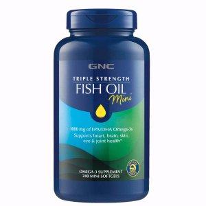 GNCTriple Strength Fish Oil Mini