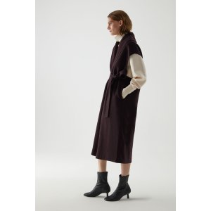 COS无袖羊毛外套