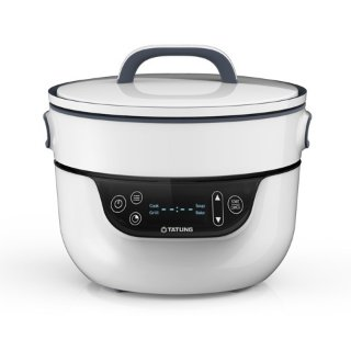 TATUNG Fusion Cooker Grill Pan and Waterless Pot