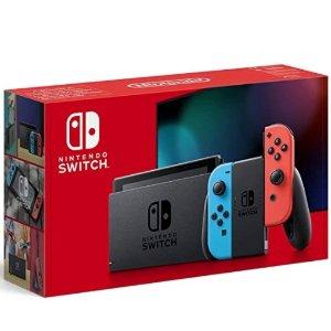 折扣升级:英亚 Nintendo Switch 红蓝机难得回货 机不可失