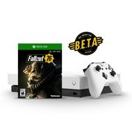 $499.99Xbox One X 1TB Robot White Special Edition Fallout 76 Early Pickup Bundle