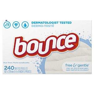 Bounce 无香轻柔衣物烘干纸, 240张