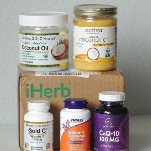 满$50享9折 囤保健品好时机iHerb 7月Click Frenzy开启 痘痘贴$4.5/24片 蛋白洗发水$13