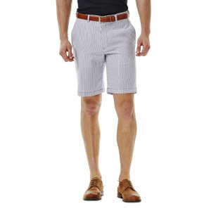 Cool 18® Seersucker Stripe Short