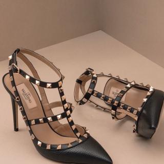 低至3折 铆钉高跟$508Valentino 精选美衣美鞋大促 铆钉鞋小白鞋都参加