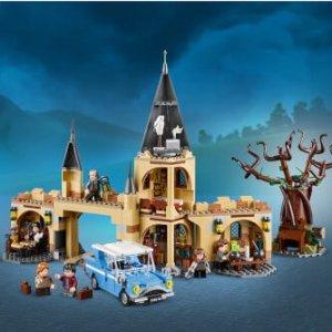 现价 £53.99(原价£59.99)Lego 乐高 哈利波特系列 75953 霍格沃茨城门与打人柳